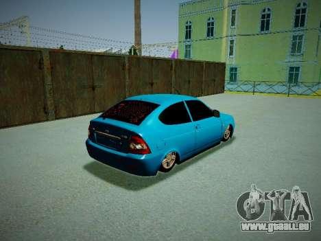 Lada Priora Coupe für GTA San Andreas rechten Ansicht