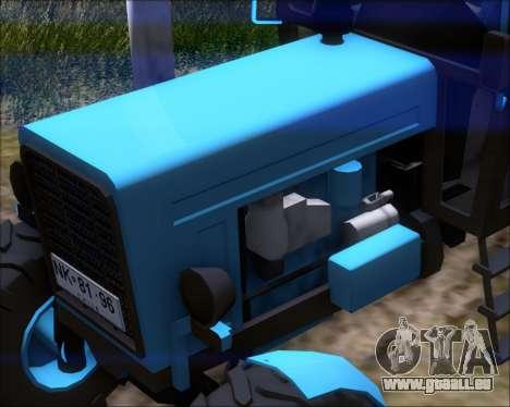 MTZ-80 für GTA San Andreas Seitenansicht