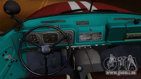 ZIL 131 - AC für GTA San Andreas obere Ansicht