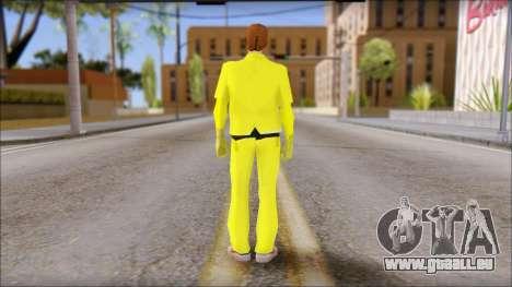 Marty with Radiation Protection Suit 1985 pour GTA San Andreas deuxième écran