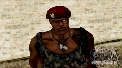 Manhunt Ped 20 für GTA San Andreas dritten Screenshot