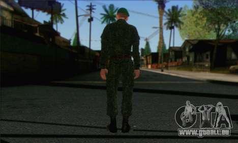 Private Motorisierte Gewehr Truppen. RAA v1 für GTA San Andreas zweiten Screenshot