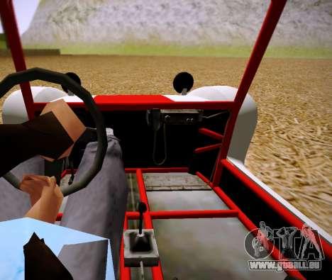 GTA 5 Bifta pour GTA San Andreas sur la vue arrière gauche