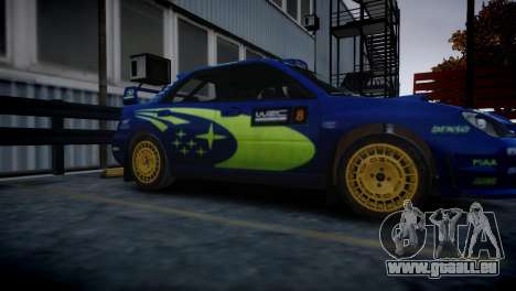Subaru Impreza STI Group N Rally Edition für GTA 4 hinten links Ansicht