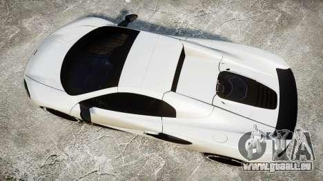 McLaren 650S Spider 2014 [EPM] BFGoodrich pour GTA 4 est un droit