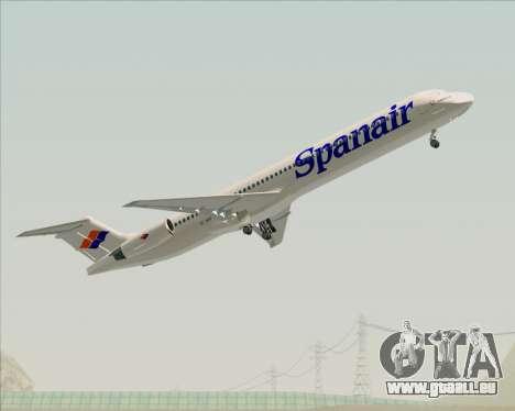 McDonnell Douglas MD-82 Spanair pour GTA San Andreas salon