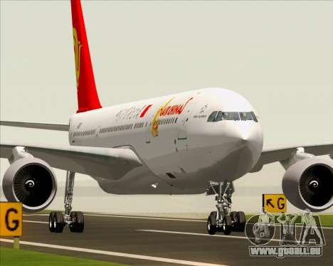 Airbus A330-200 Air China pour GTA San Andreas vue arrière