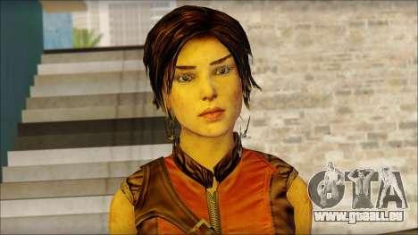 Tomb Raider Skin 5 2013 pour GTA San Andreas troisième écran