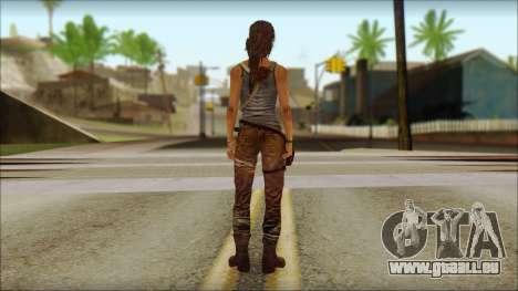 Tomb Raider Skin 12 2013 pour GTA San Andreas deuxième écran