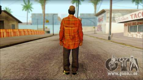 Eazy-E Red Skin v1 für GTA San Andreas zweiten Screenshot
