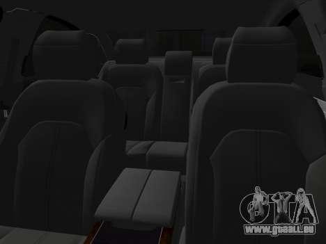 Audi A8 2010 W12 Rim3 pour GTA Vice City vue latérale