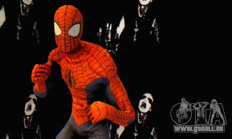 Skin The Amazing Spider Man 2 - Suit Edge Of Tim pour GTA San Andreas quatrième écran