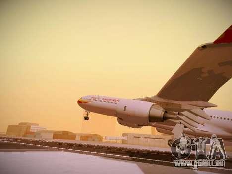 Airbus A340-600 Hainan Airlines für GTA San Andreas Unteransicht
