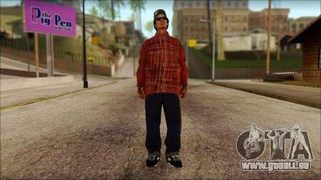 Eazy-E Red Skin v1 pour GTA San Andreas