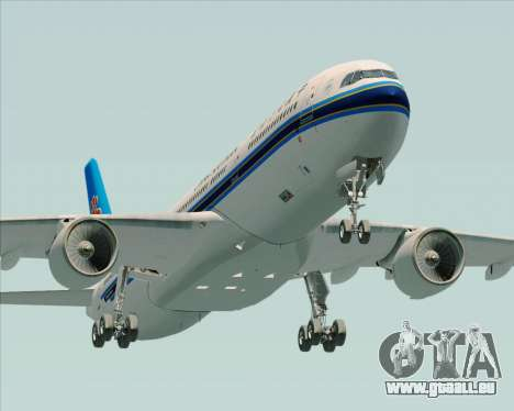 Airbus A330-300 China Southern Airlines für GTA San Andreas Seitenansicht