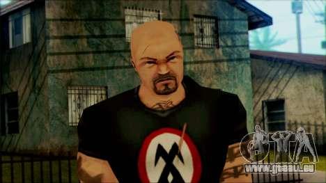 Manhunt Ped 13 pour GTA San Andreas troisième écran