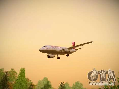 Airbus A319-132 Germanwings pour GTA San Andreas salon