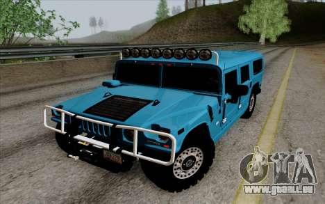 Hummer H1 Alpha 2006 Road version für GTA San Andreas