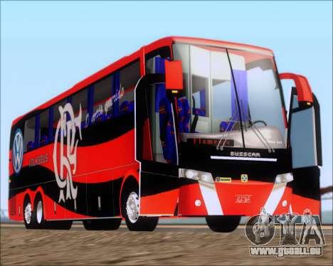 Busscar Elegance 360 C.R.F Flamengo pour GTA San Andreas vue de côté