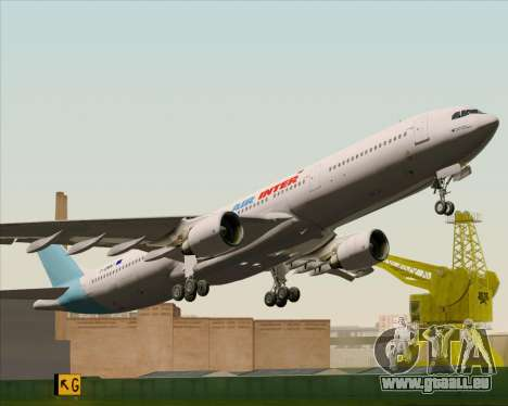 Airbus A330-300 Air Inter für GTA San Andreas Seitenansicht