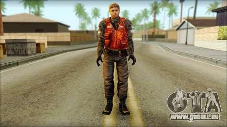 La garde côtière (à Froid de la Peur) pour GTA San Andreas