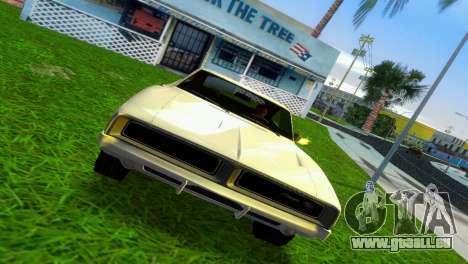 Dodge Charger 1967 pour une vue GTA Vice City de la gauche