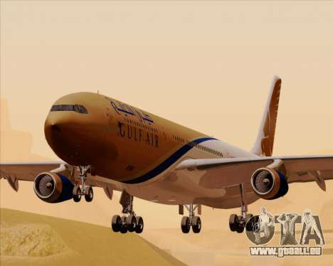 Airbus A340-313 Gulf Air pour GTA San Andreas