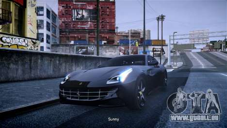 Ferrari FF pour GTA 4 est une gauche