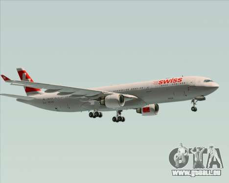 Airbus A330-300 Swiss International Air Lines für GTA San Andreas Rückansicht