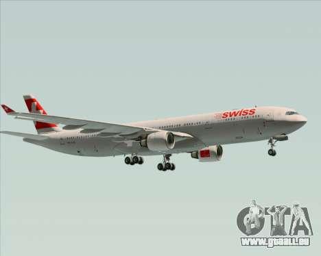 Airbus A330-300 Swiss International Air Lines pour GTA San Andreas vue arrière