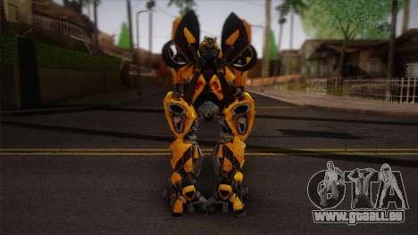 Bumblebee TF2 pour GTA San Andreas deuxième écran
