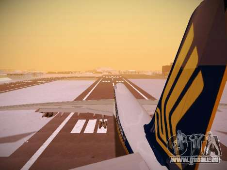 Airbus A340-600 Singapore Airlines pour GTA San Andreas