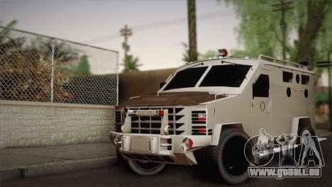 FBI Armored Vehicle v1.2 pour GTA San Andreas