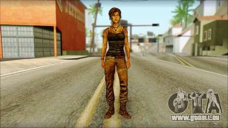 Tomb Raider Skin 13 2013 für GTA San Andreas