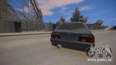 AZLK 2141 für GTA 4 Rückansicht