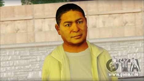 GTA 5 Ped 10 pour GTA San Andreas troisième écran