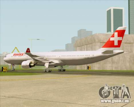 Airbus A330-300 Swiss International Air Lines pour GTA San Andreas vue de droite