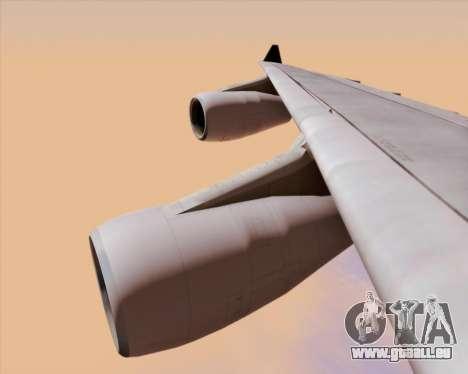 Airbus A340-313 Air Canada für GTA San Andreas Unteransicht