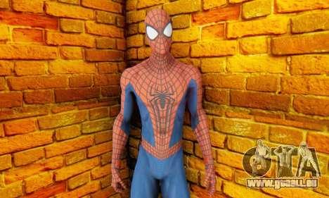 The Amazing Spider Man 2 Oficial Skin für GTA San Andreas dritten Screenshot