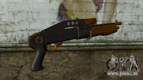 Nitro Shotgun v2 pour GTA San Andreas deuxième écran