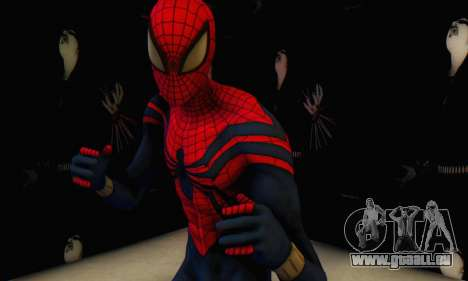 Skin The Amazing Spider Man 2 - Suit Ben Reily für GTA San Andreas zweiten Screenshot