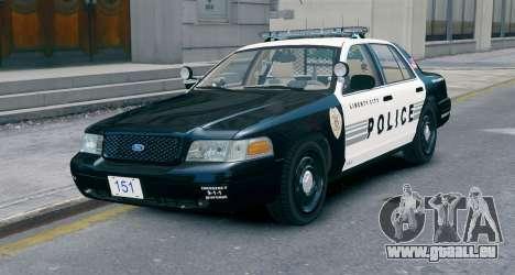Ford Crown Victoria LCPD [ELS] No Pushbar für GTA 4