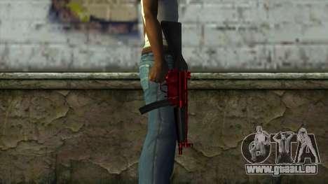 MP5 für GTA San Andreas dritten Screenshot