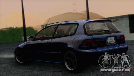 Honda Civic EG6 für GTA San Andreas linke Ansicht