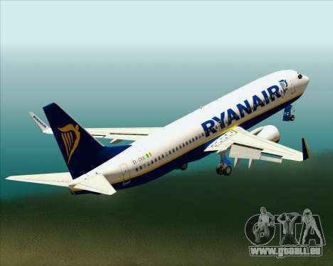 Boeing 737-8AS Ryanair pour GTA San Andreas