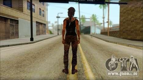 Tomb Raider Skin 13 2013 für GTA San Andreas zweiten Screenshot