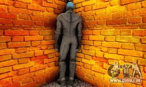 Skin Electro From The Amazing Spider Man 2 für GTA San Andreas zweiten Screenshot