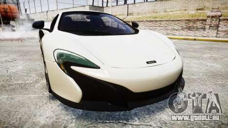McLaren 650S Spider 2014 [EPM] BFGoodrich pour GTA 4