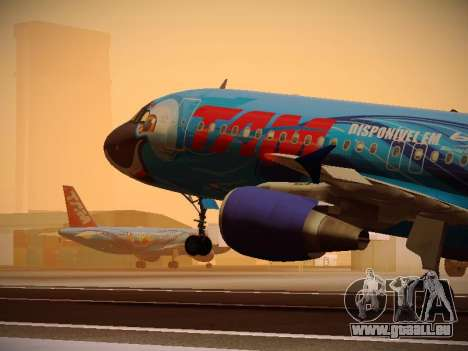 Airbus A320-214 TAM Airlines RIO pour GTA San Andreas