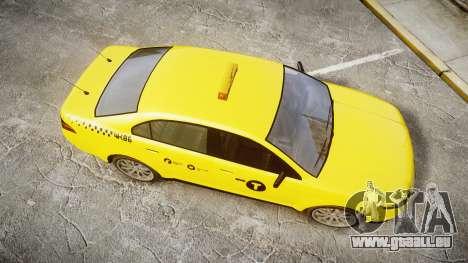 GTA V Vapid Taurus Taxi NYC für GTA 4 rechte Ansicht